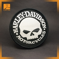 Custom High Quality Iron On Embroidery Patch Logo Woven Labels