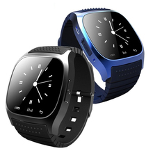 China manufactory latest products blue tooth M26 smart watch portable smart watch waterproof wrist watch for andriod phone