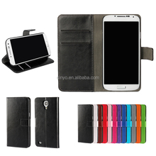 for samsung s4 mini cover, leather wallet case for samsung galaxy s4 with credit cards slots
