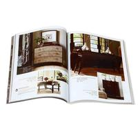 Custom cheap furniture promotion brochure printing