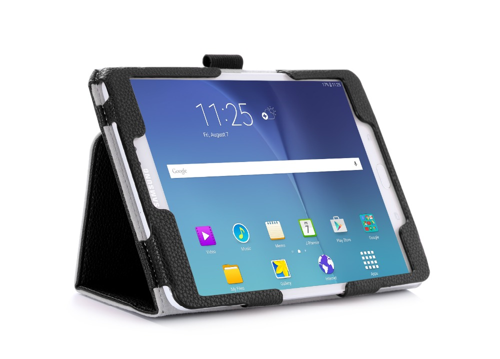 Hot New Product Folding Stand Leather Tablet Case For Samsung Tab S2 SM-710 8.0inch