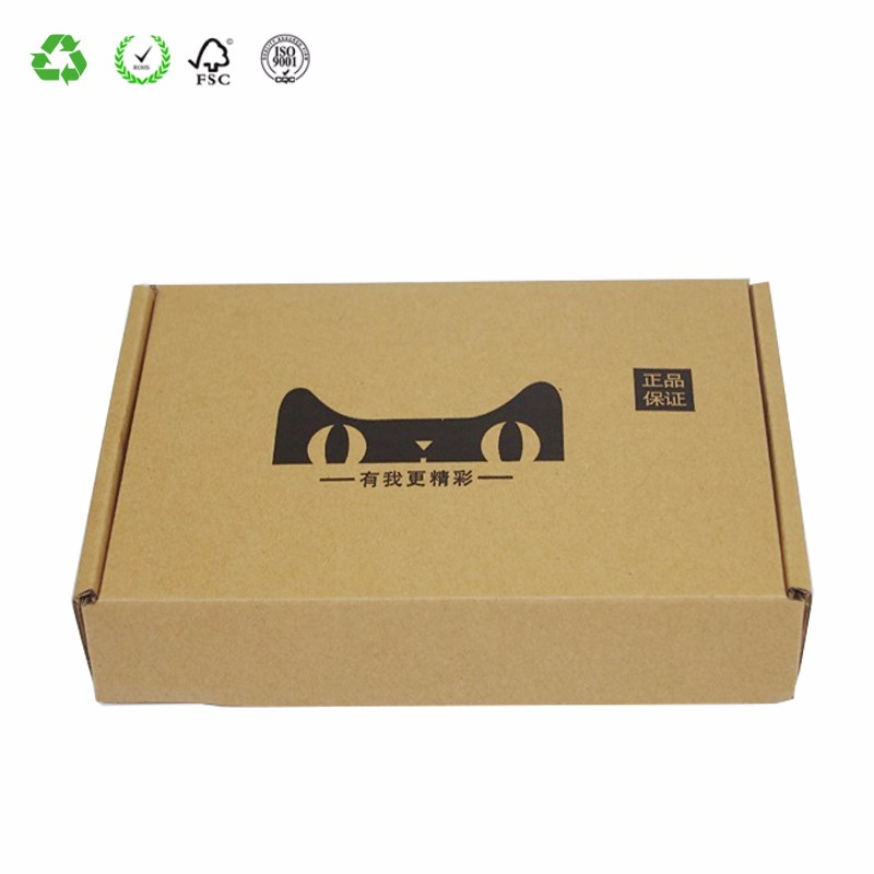 Low Cost Industrial Corrugated Electronics Packaging Box