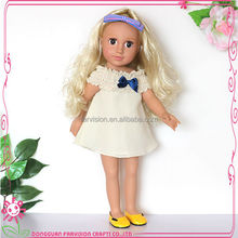 18 inch full-vinyl doll body with clothes small real doll silicone