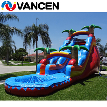 2016 leaf series children slides indoor tunnel indoor playground, Giant Inflatable Water Slide For Sale