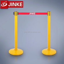 2016 JINKE new product defensive barriers stainless steel railing Stackable Traffic metal beam crash Barrier for sale