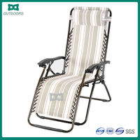 Wholesale Folding steel lounge chair dimensions