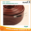 self-regulating heat trace 220 volt silicone pipe heating cable/wire CE Approved