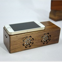 2016 New design originality portable wood magic touch induction speaker