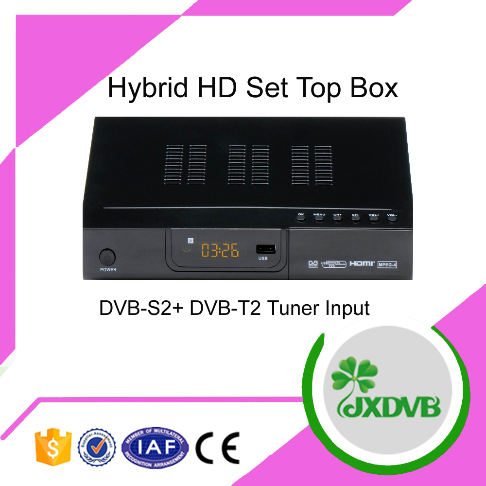 DVB-T Mpeg4 Tuner Receiving Box