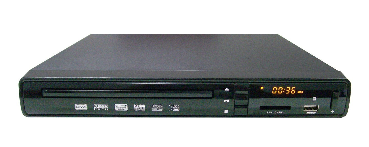 DVD Player with USB/MMC & Amplifier
