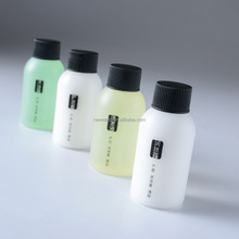 Spa 50ml HDPE White Bottle For Hotel Cosmetics