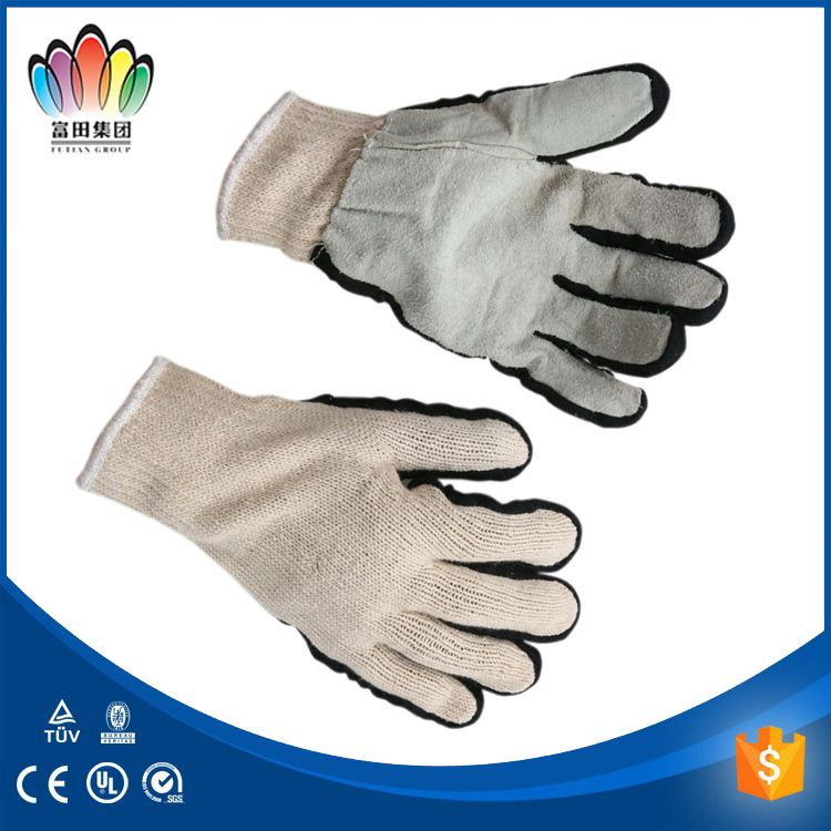 Hot!Reinforced bus driving gloves welding gloves leather