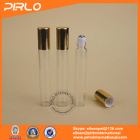 8ml Deodurant Perfume Bottle With Metal Cap Glass Roll On Bottle