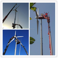 2016! free energy generator, electric pitch controlled wind turbine 20kw wind generator grid tied