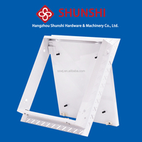 new type steel access panel /ceiling moulding /service port with set beaed frame