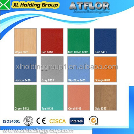 Multi-purpose sports court used pvc flooring for sale