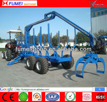 Log Loader Trailer, Hot Sale in USA&CA, Log Loader With Trailer