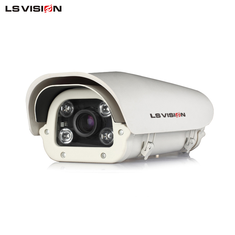 LS VISION 2MP Car License Plate Recognition Camera 30fps Recording Fixed 3.0MP Lens Applicable to roads streets