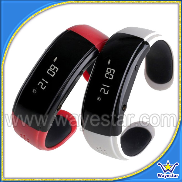 2014 New Product BT999 Smart Wrist bracelet displayb caller ID