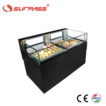 Showcase mini cake display commercial refrigerator