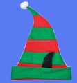 Factory sell Women's Elf Hat with Ears for santa holiday