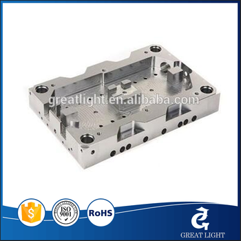 Precision CNC machined aluminum parts with sand blasting and clear anodizing made in China supplier