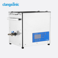 28KHz 300W CD record cleaning machine with timer control 0-9999min. Lp vinyl record ultrasonic cleaner