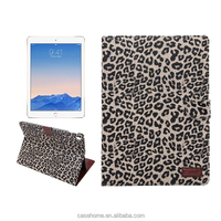 leopard print PU leather tablet protactive case cover for ipad pro 9.7""