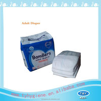 Super Absorbent Disposable Adult Diaper european adult diapers styles made in china