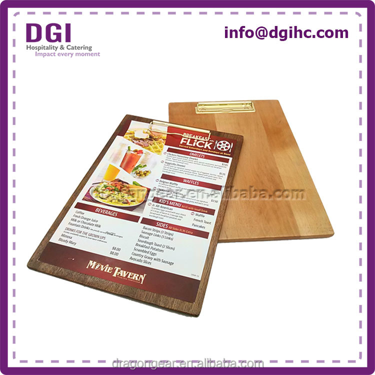 factory home/hotel decoration best price clip for bag closure menu