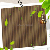 melamine faced high glossy UV mdf board for interior design