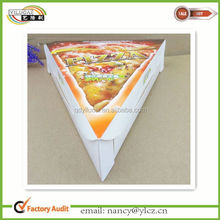 Custom Triquetrous Paper Mini Pizza Box with Logo Printed
