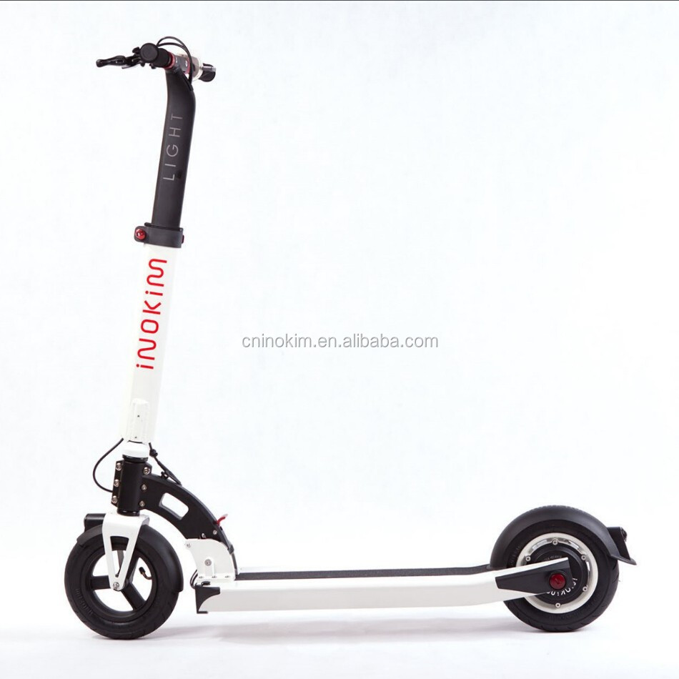 2016 300w 36v 2 wheel light weight electric mobility scooter