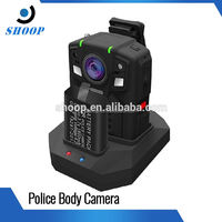 2800mAH Lithium battery full hd 1080p body worn police gsm hidden camera