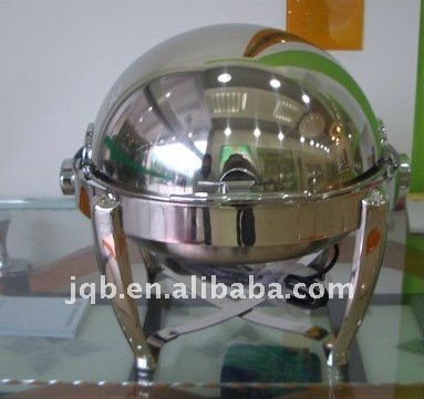 stainless steel roll top chafing dish for sale