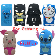 Hot 3D Lovely Cartoon Cuties Stitch Soft Silicon Back Cover Phone Case For Samsung Galaxy Core 2 Grand Prime Plus Neo Duos
