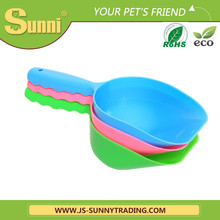 Popular pet cleaning product plastic feed scoop
