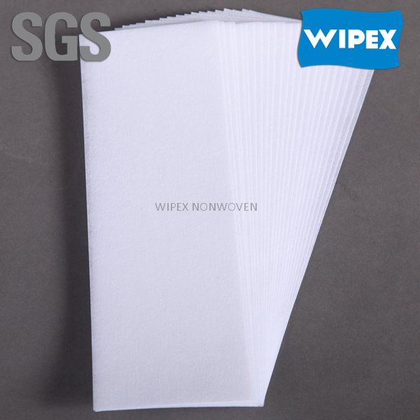 Guangdong cheapest premium quality 100% polyester muslin depilatory wax strips