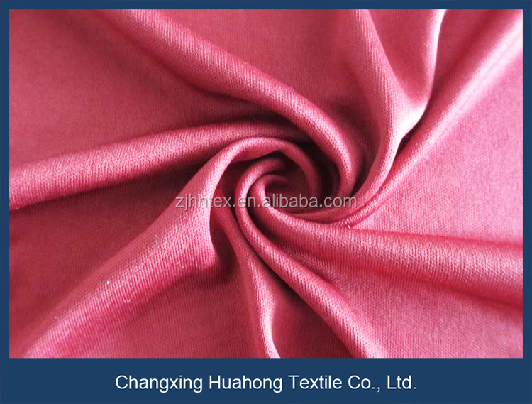 Dry fit knitted double sided polyester interlock fabric, t-shirt material