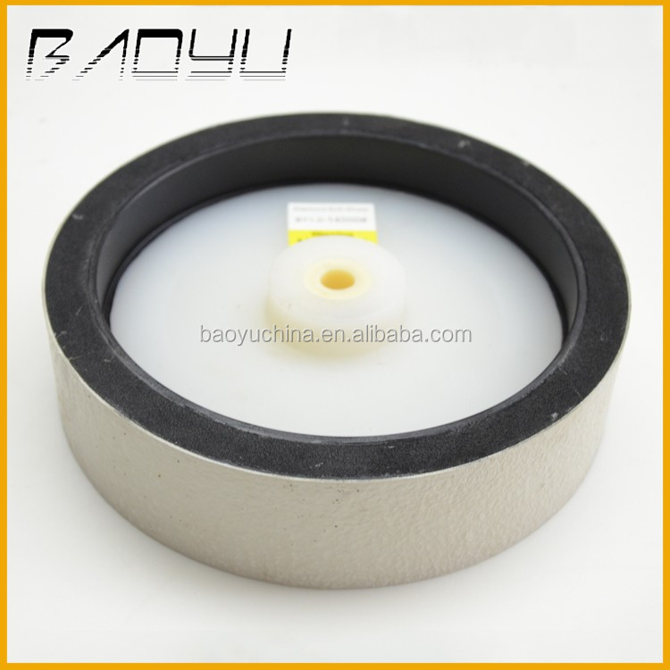Soft Grinding Polishing Gemstone Diamond Soft Wheel for Lapidary Use