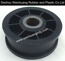injection molded custom plastic idler pulley
