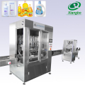 Production line bottle liquid soap filling machine