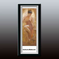 Impressionist style painting nude female body beautiful, family-run hotel walls are decorated with high quality painting