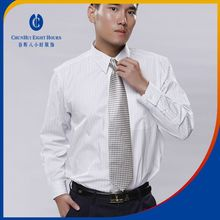 Formal white cotton full sleeve and collar shirts clothing wear dress garment for mens