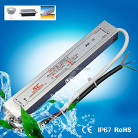 Waterproof electronic Constant Current led drivers 12v 3w 350MA IP67