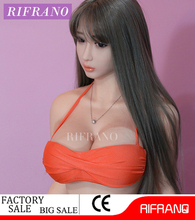 2017 165cm full silicone big breast/flat chest girl sex doll with oral sex for adult men