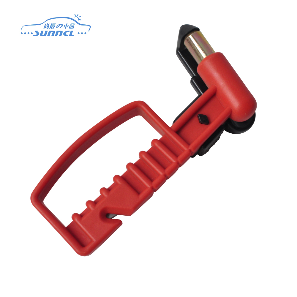 Professional car accessories exporter high quality auto safety hammer