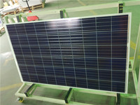 China gold supplier photovoltaic module solarworld 250W Monocrystalline price per watt solar panels For Home Use