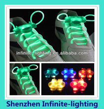 Hot sale neon led shoelaces newest/neon charming LED shoelace