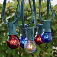E17 outdoor patio globe string light,C9 bulb matched,using for xmas,holiday,wedding decoration